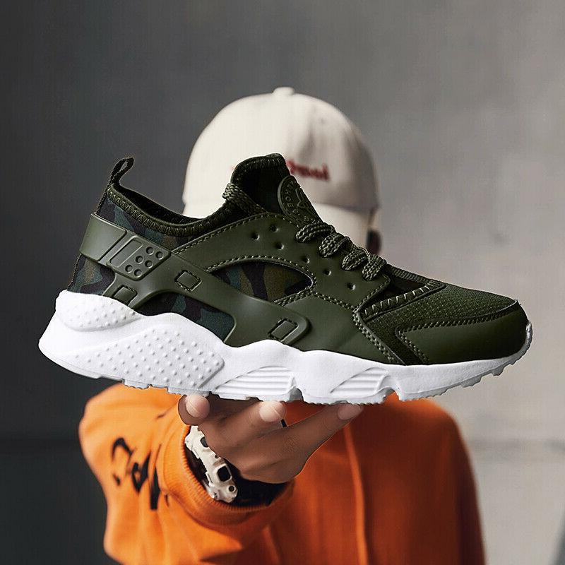 Mens Athletic Sneakers Jogging Comfort