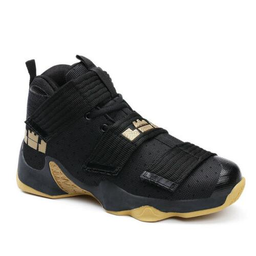 mens basketball shoes shock absorbing high top