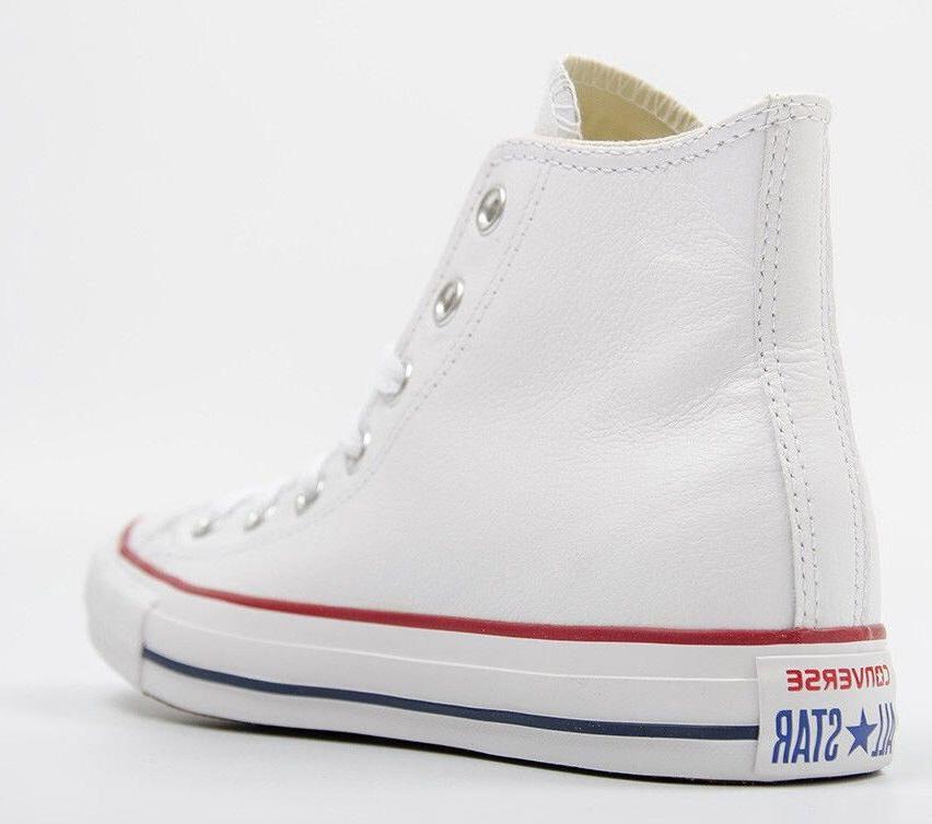 Mens Converse All Leather Fashion White