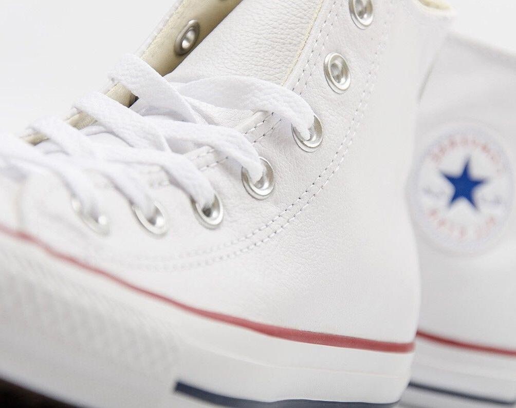 All Star Leather Fashion White