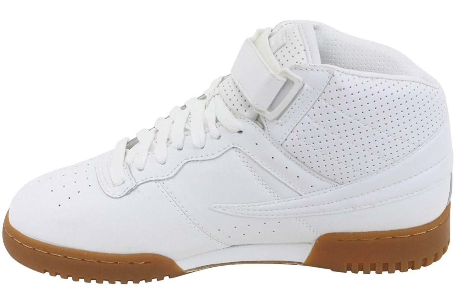 Mens Fila Classic High Basketball Shoes Sneakers
