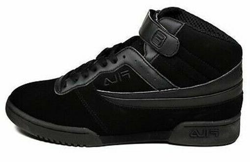 Mens F-13 Classic Mid High Top Basketball Shoes White Black