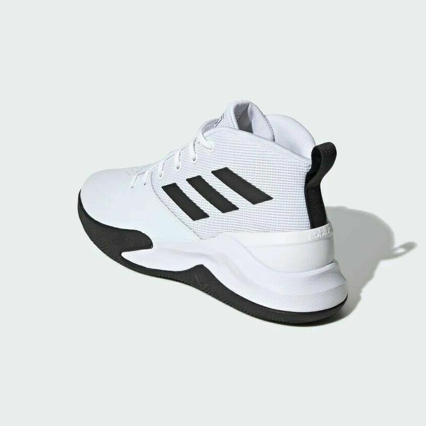 Adidas Mens OwnTheGame Shoes. White Choose