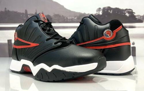 Men's Fila Retro Basketball Shoes Black