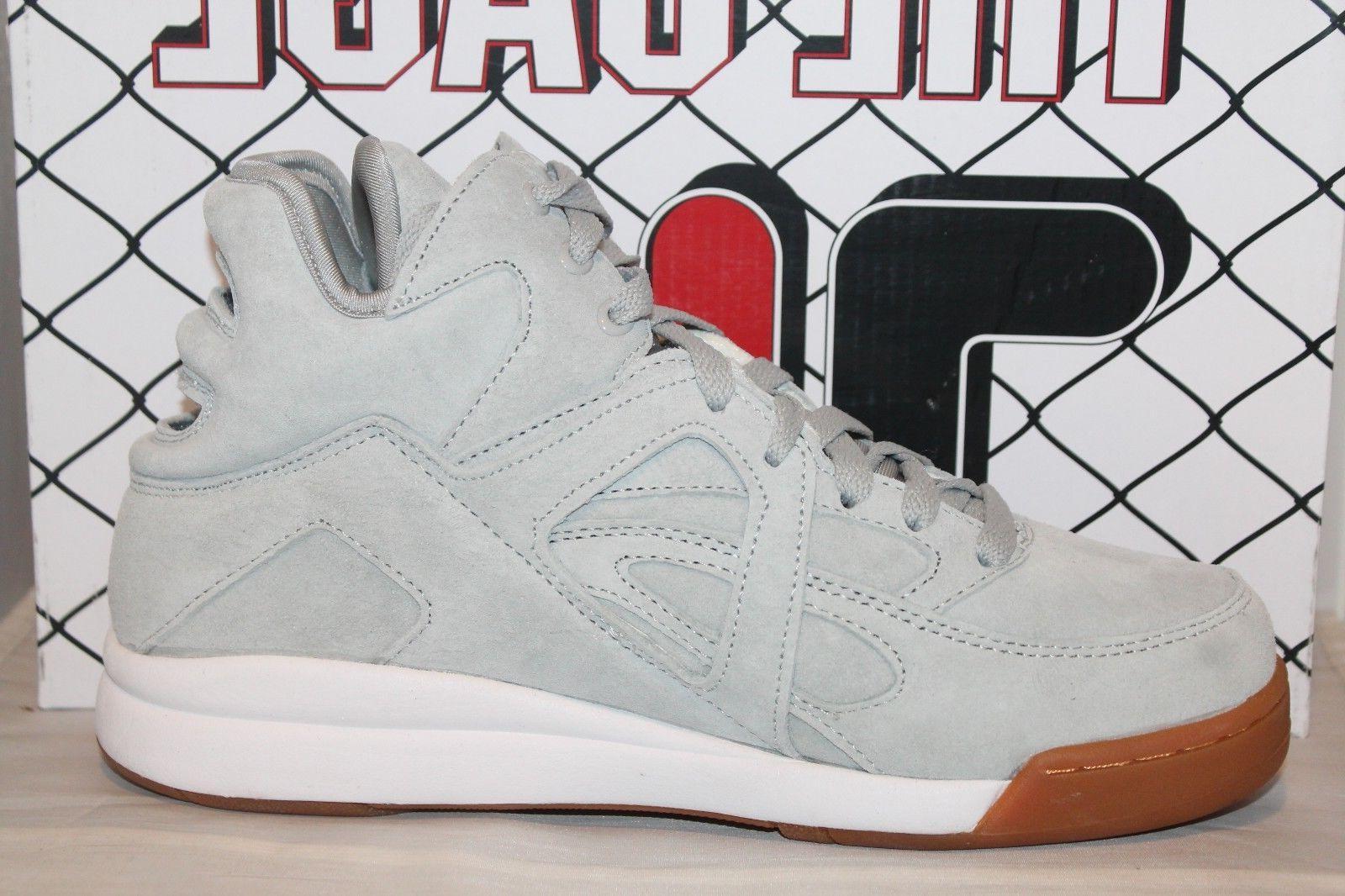 Mens Grey Gum Classic Basketball Shoes