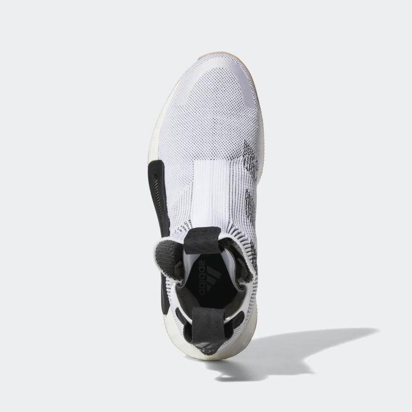 Adidas N3XT L3V3L Level Laceless Basketball Black White F36272