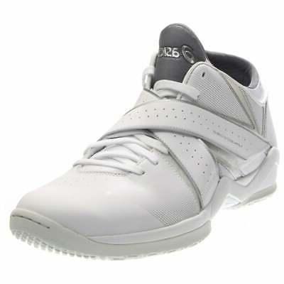 naked ego2 athletic basketball court shoes white