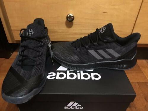NBA Harden Basketball Shoes Mens 11 Black Grey Rare