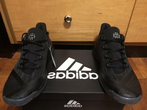 NBA Adidas Harden Basketball Shoes Mens 11 Black Rare