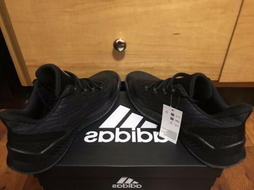 NBA Basketball Shoes 11 Black Grey Rare
