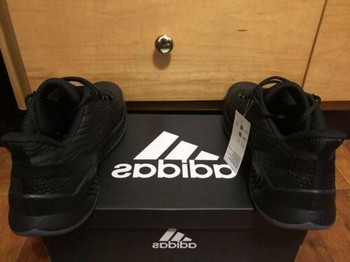 NBA Adidas James Harden Basketball Shoes Mens 11 Black Grey