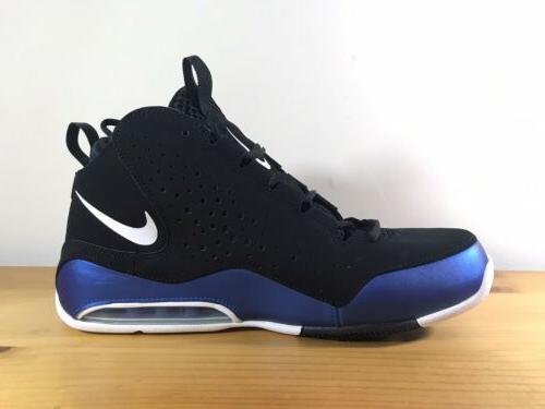 New Air Men AV8061-002 Basketball Shoes Blue Black Size 10.5