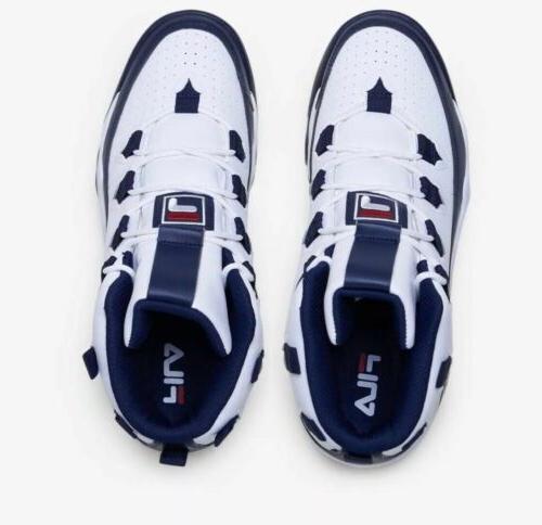 *NEW* 1 Men's Basketball White Blue 1bm00636-125