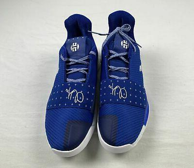 new harden vol 3 blue basketball shoes