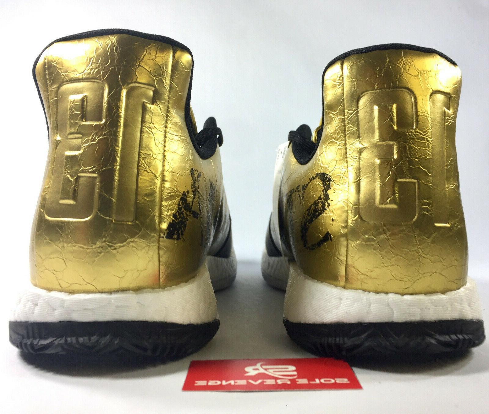 New adidas VOL. G54026 Gold Metallic White