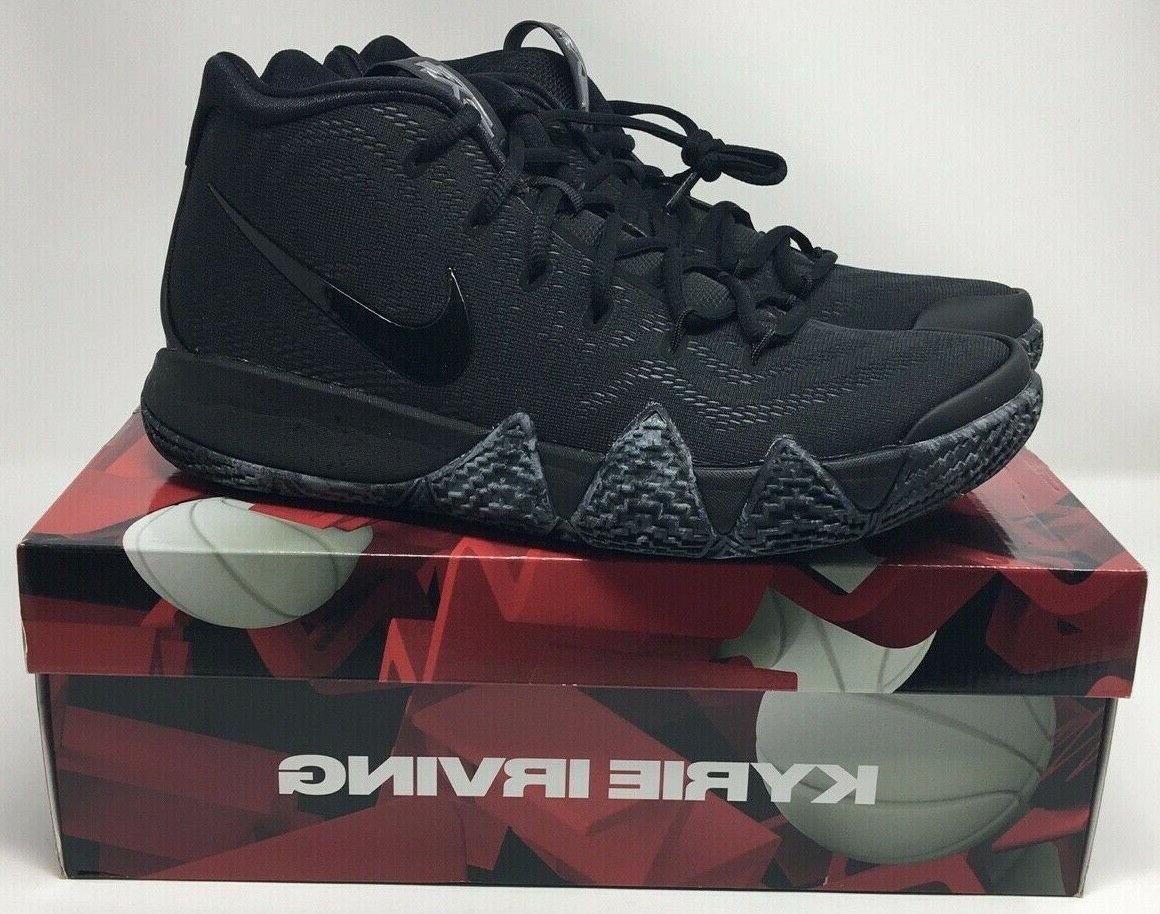 new kyrie 4 triple black basketball kyrie