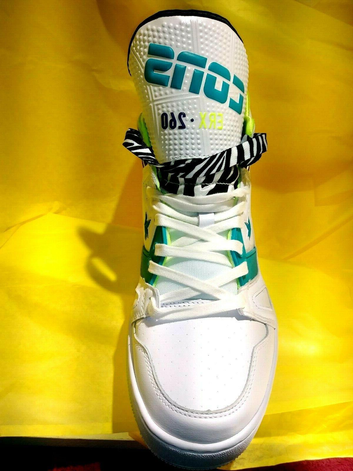 NEW MEN'S ERX-260 RETRO Basketball LEATHER SIZE 10