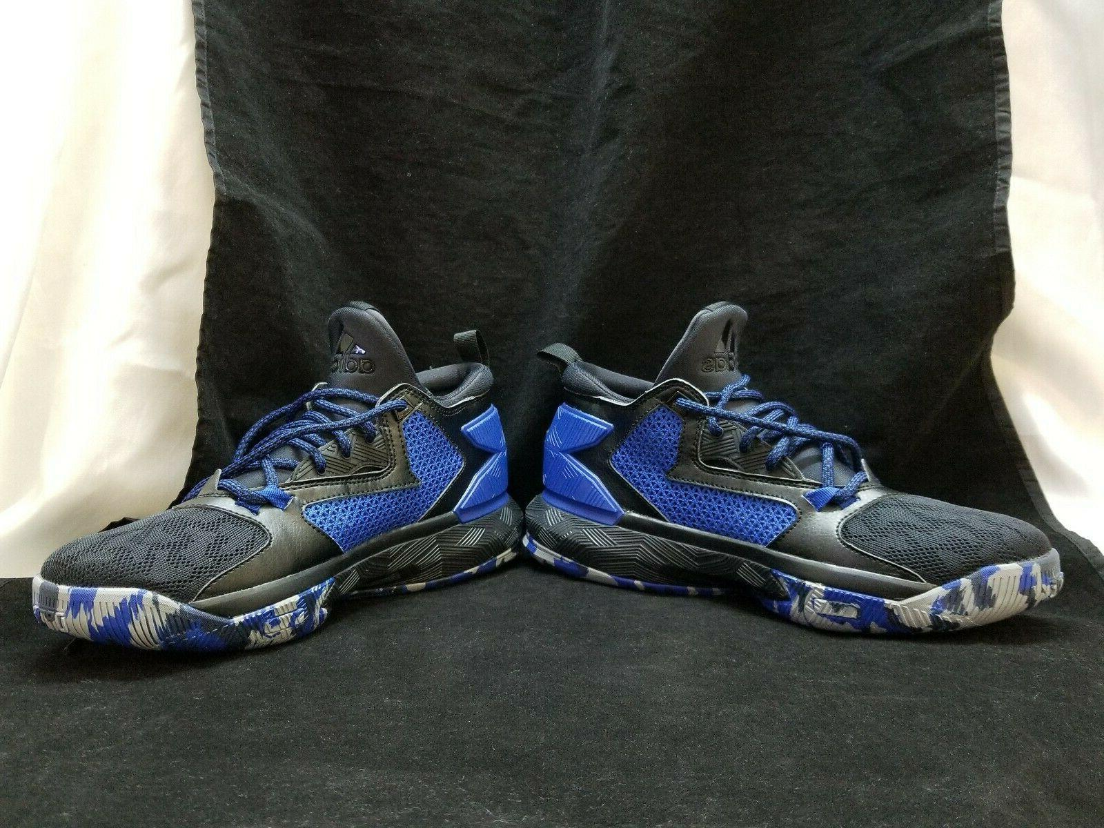 NEW Mens Adidas Stable Frame Blue Camo Shoes Size