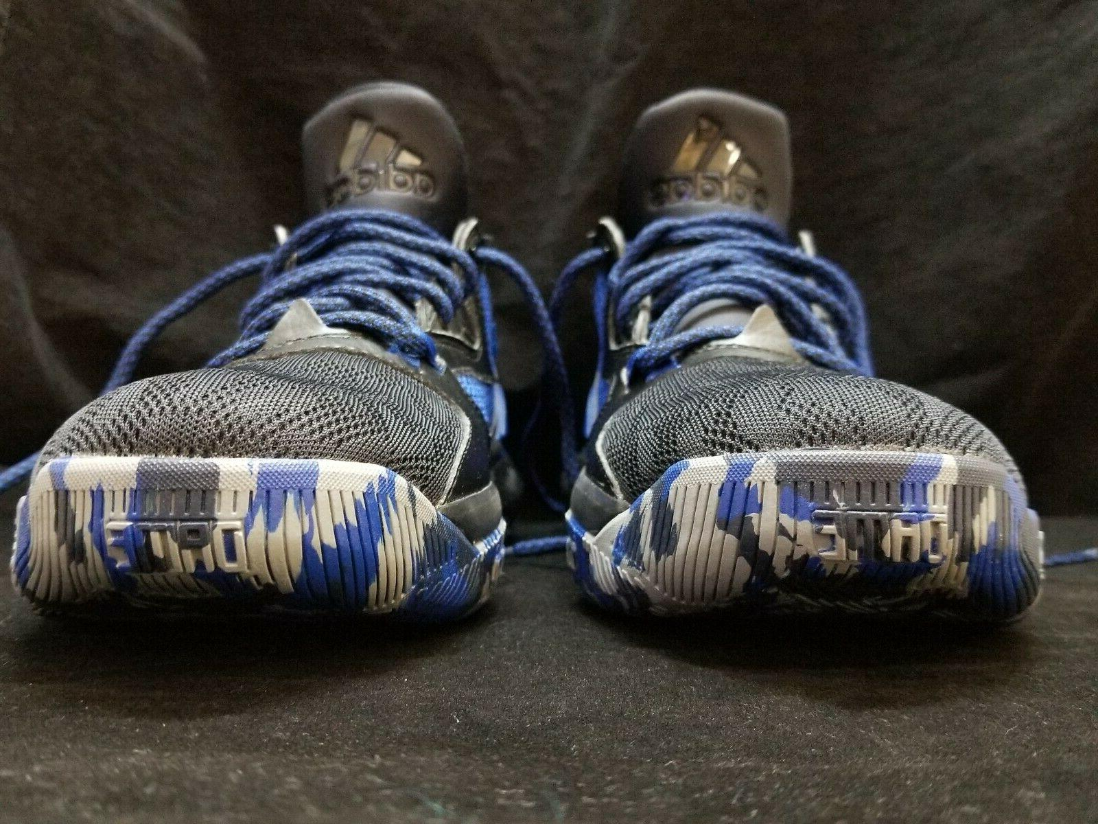 NEW Stable Brook Blue Camo Sneakers Size