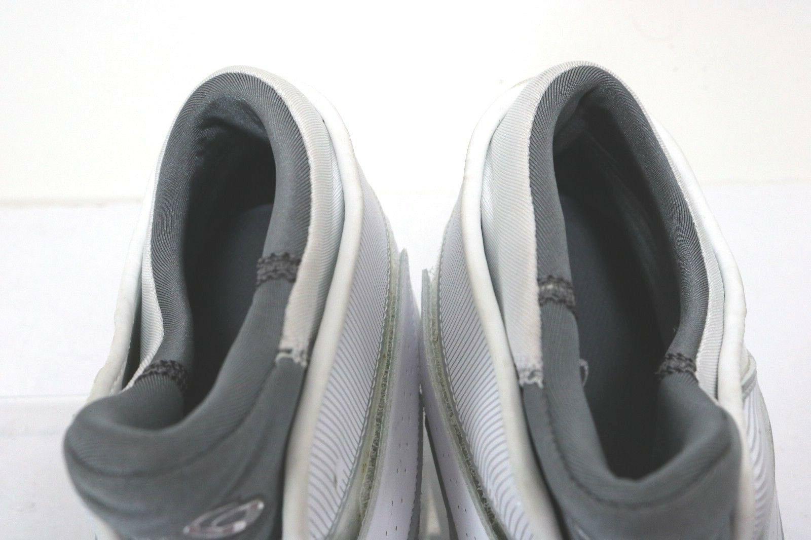 Asics Naked $120 Hi-Top Basketball Shoes Leather White