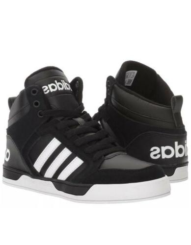New Adidas Neo Kids Raleigh 9TIS Mid K Sneaker YOUTH Black W