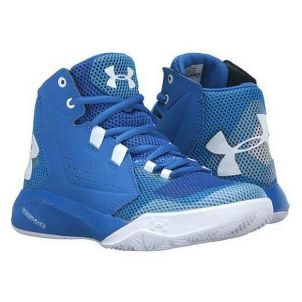 NEW Under Armour Torch Fade Mid Rise Boys' Basketball Shoes