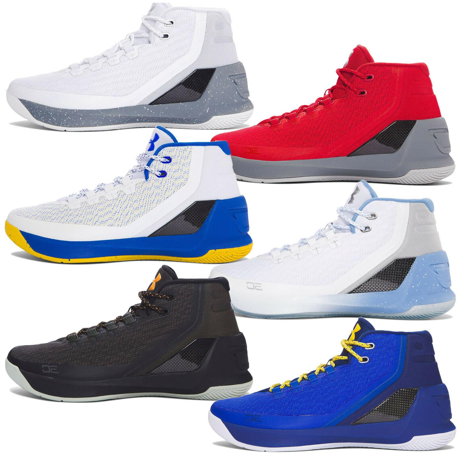 new ua stephen curry 3 mens mid