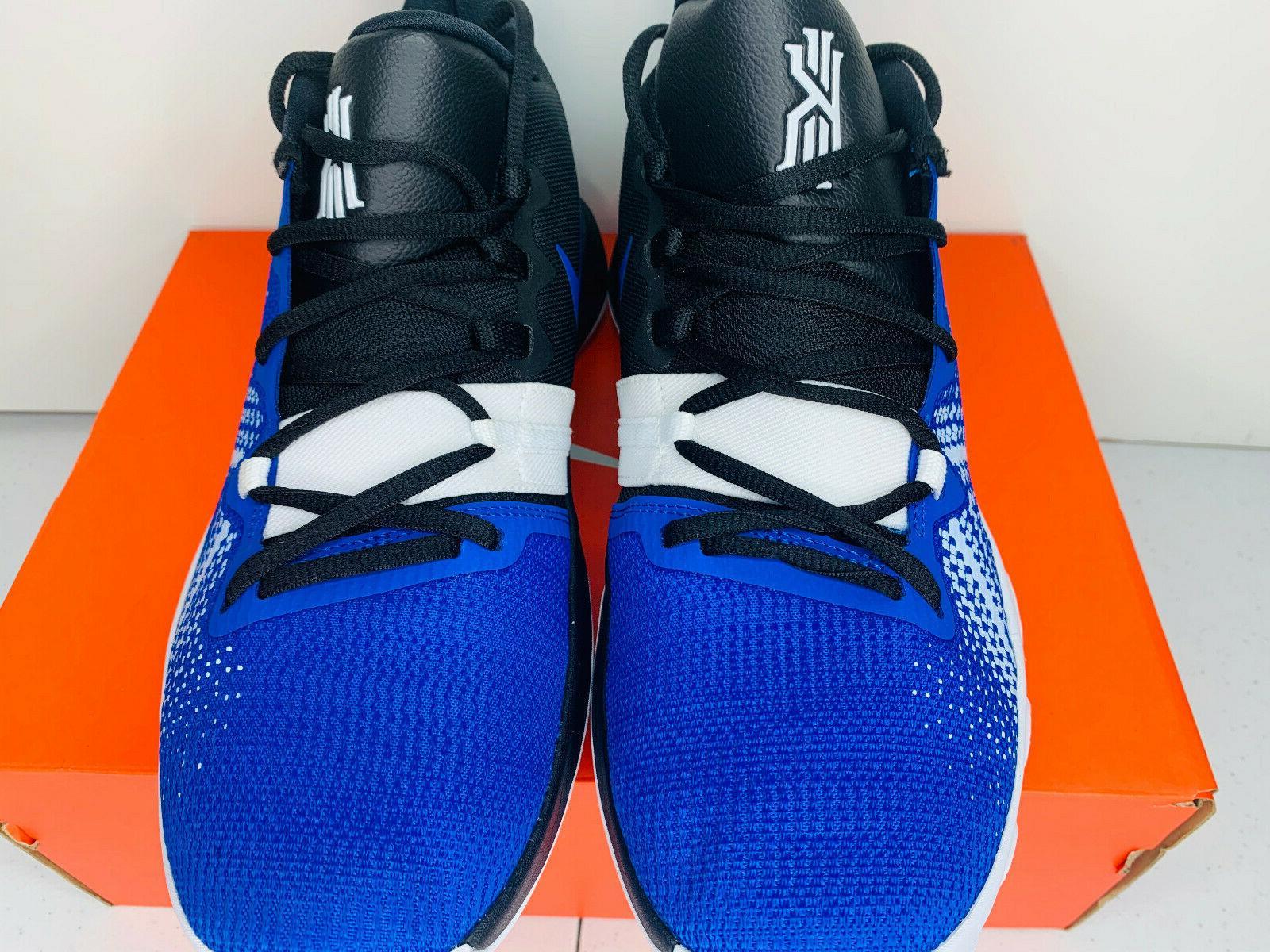 NIB 9.5-15 MEN Nike Basketball Shoes Blue White Black