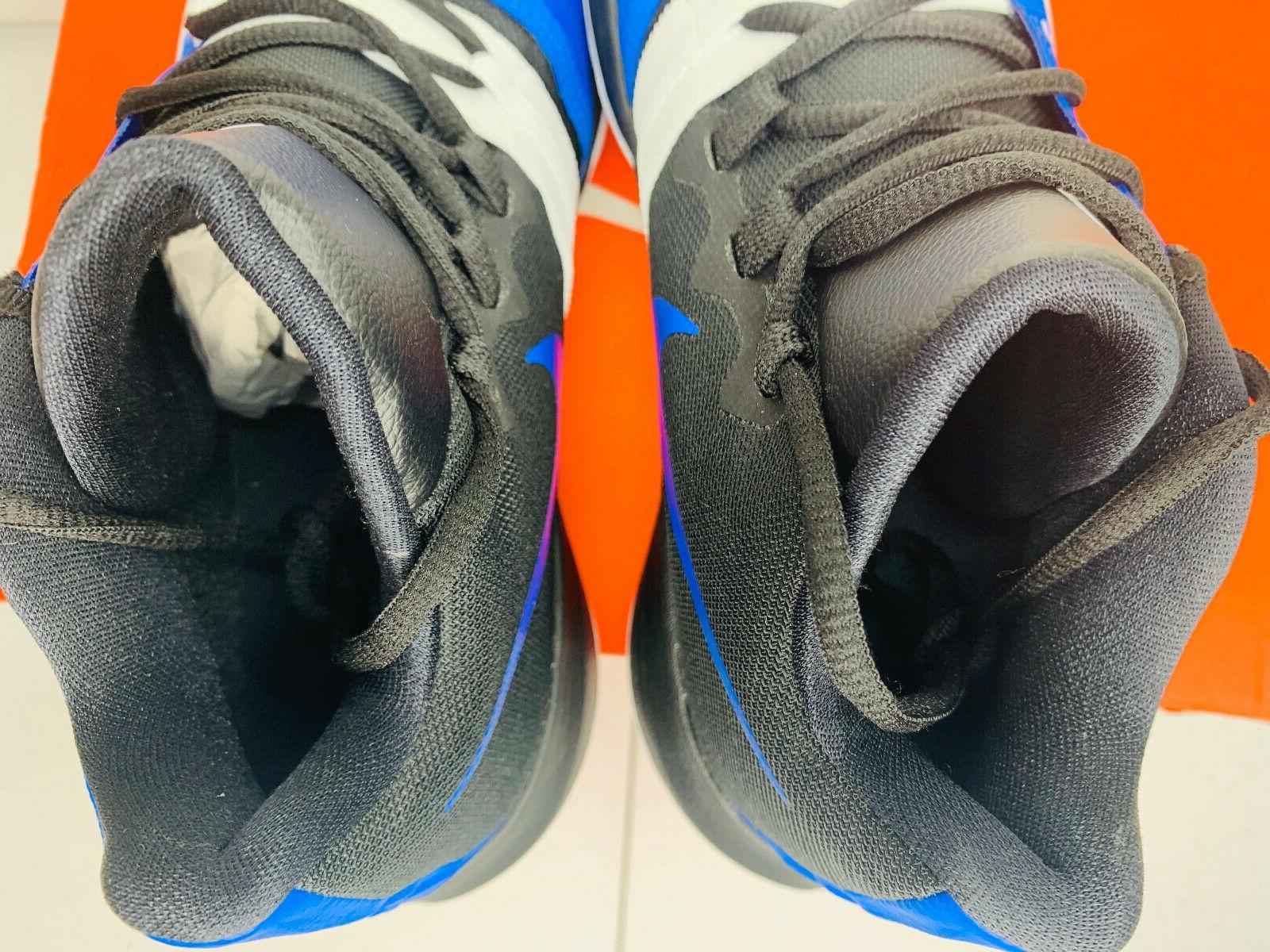 Basketball Shoes Blue White Black