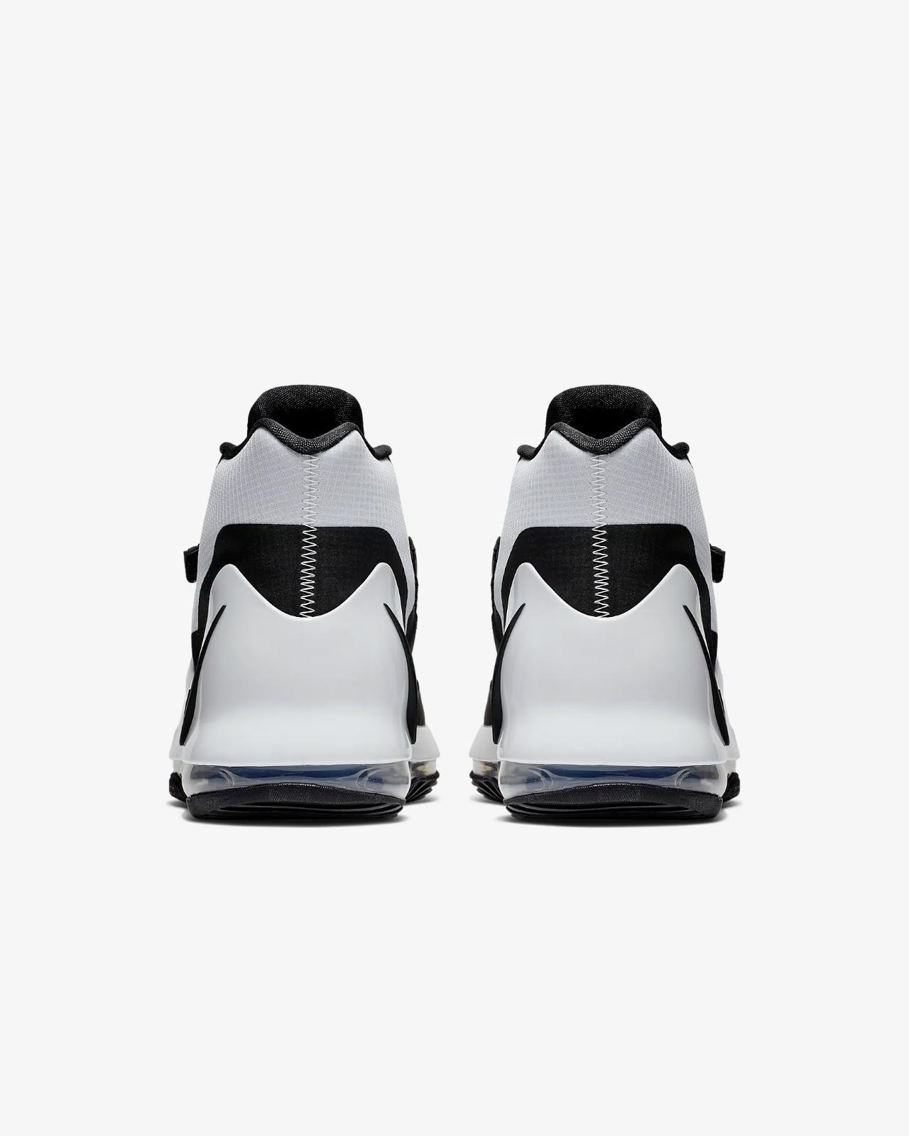 Nike Max Basketball Black Oreo Crimson AR0974-101