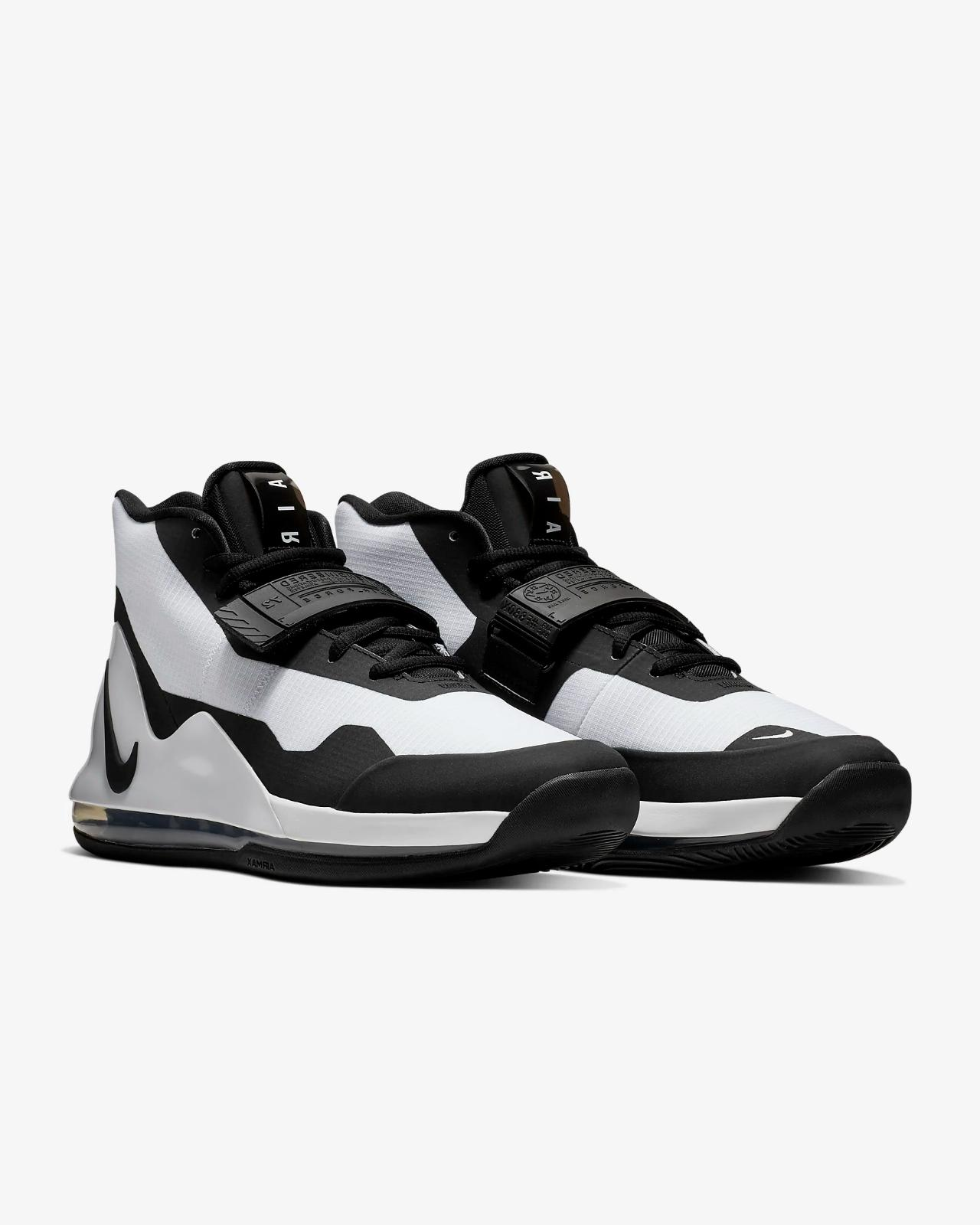 nike air force max basketball shoes white