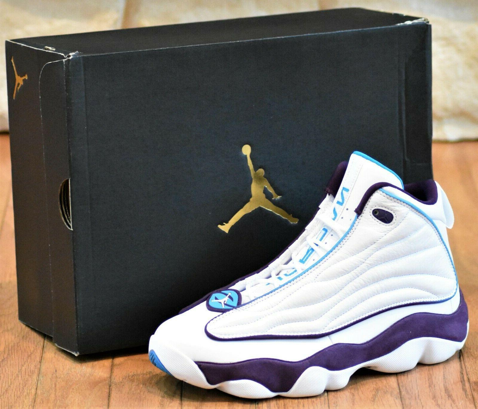 NIKE PRO - New Men's Shoes White Purple 407285