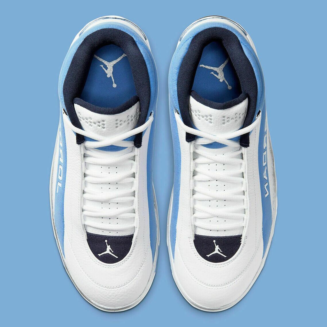 "Nike Jordan Basketball Shoes White ""UNC"" CD4150-104 Men's"