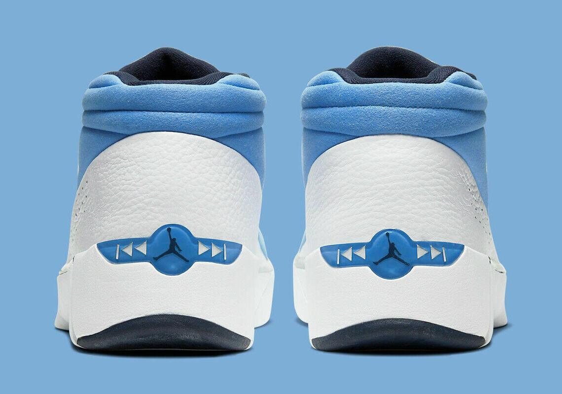 Jordan White Blue Shoes Men's