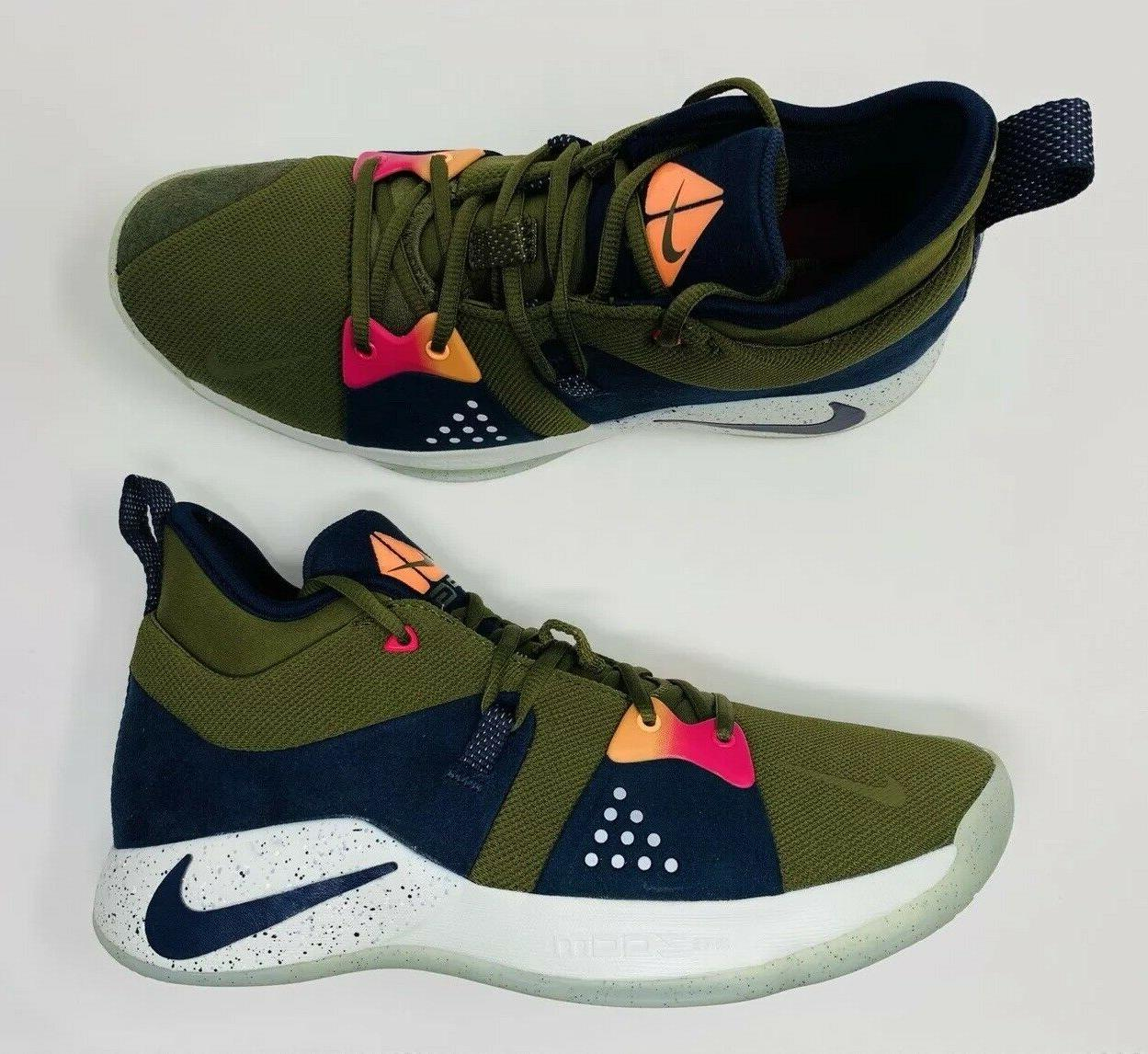 Nike PG 2 Olive Shoes 11