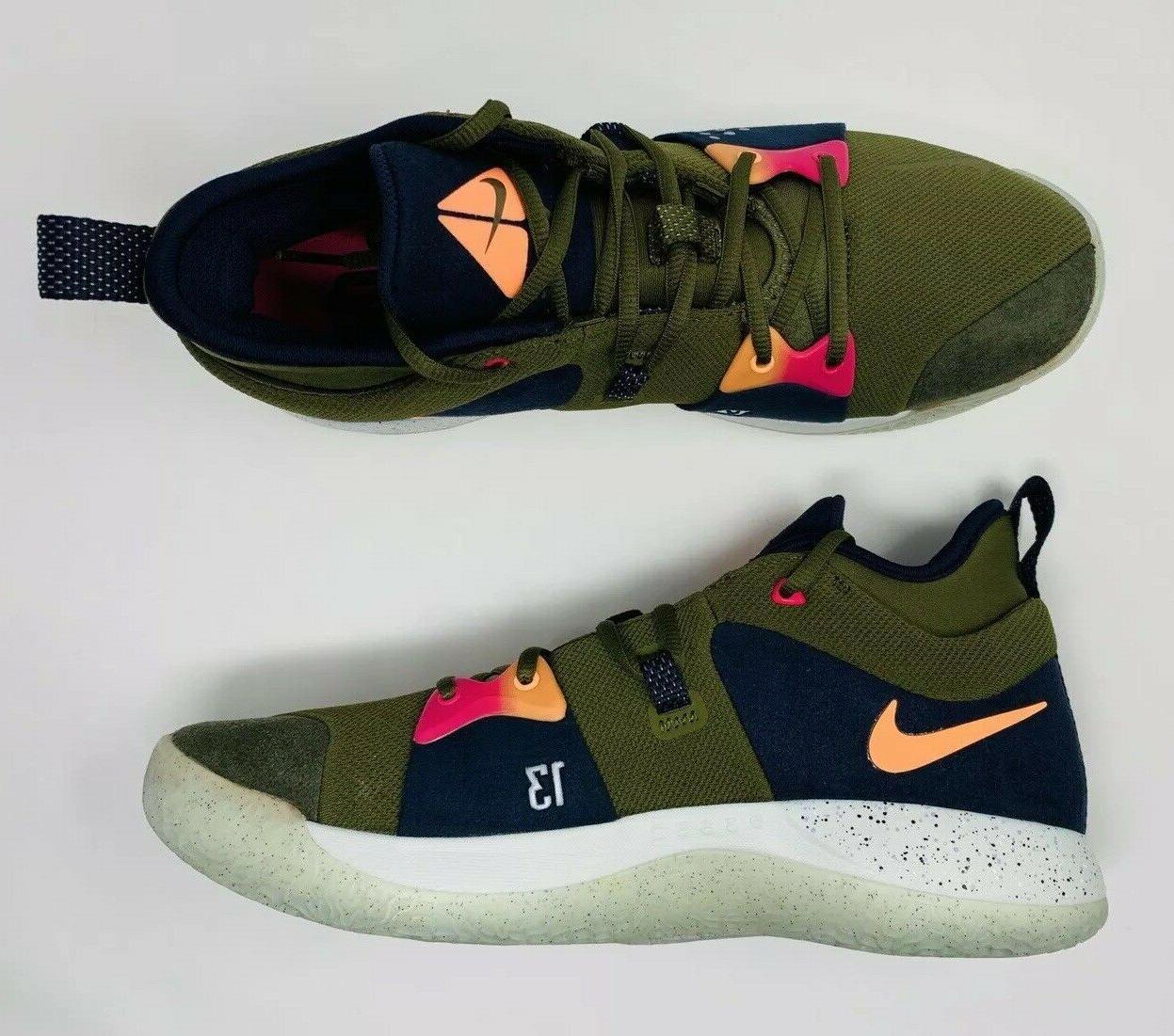 Nike 2 ACG Olive Shoes AJ2039-300 11