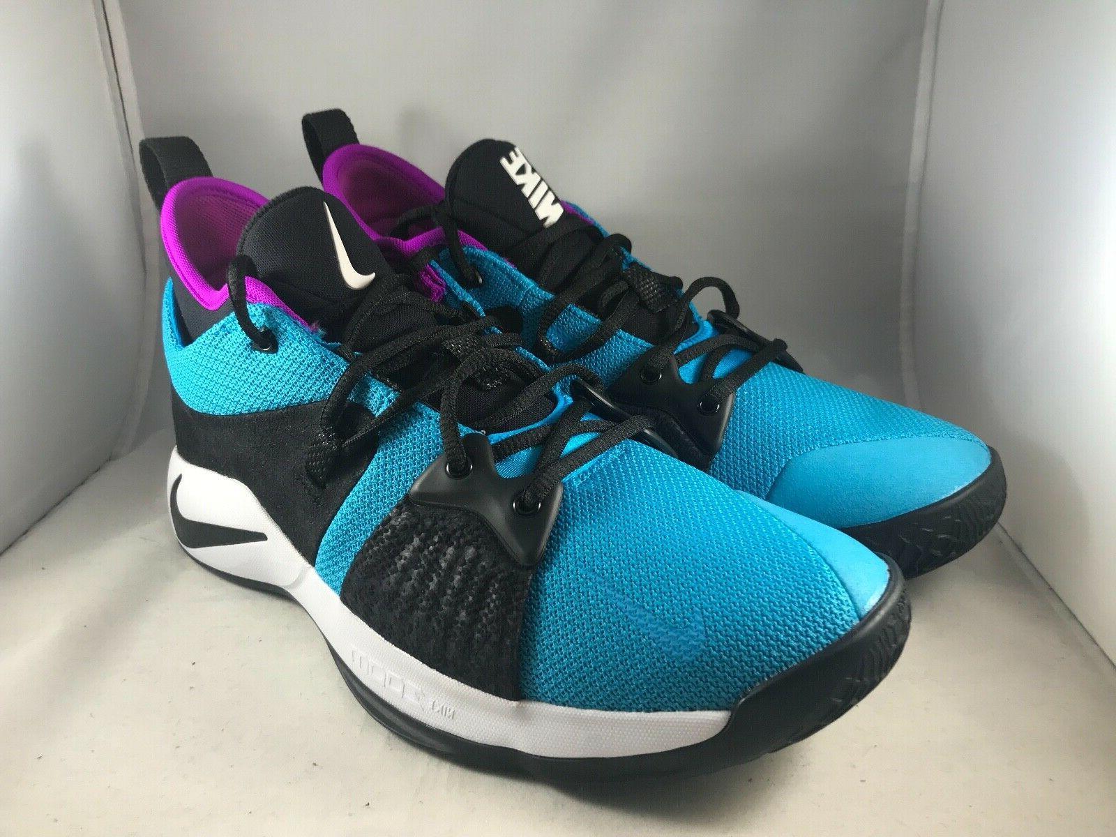 Nike PG 2 Blue Lagoon Size