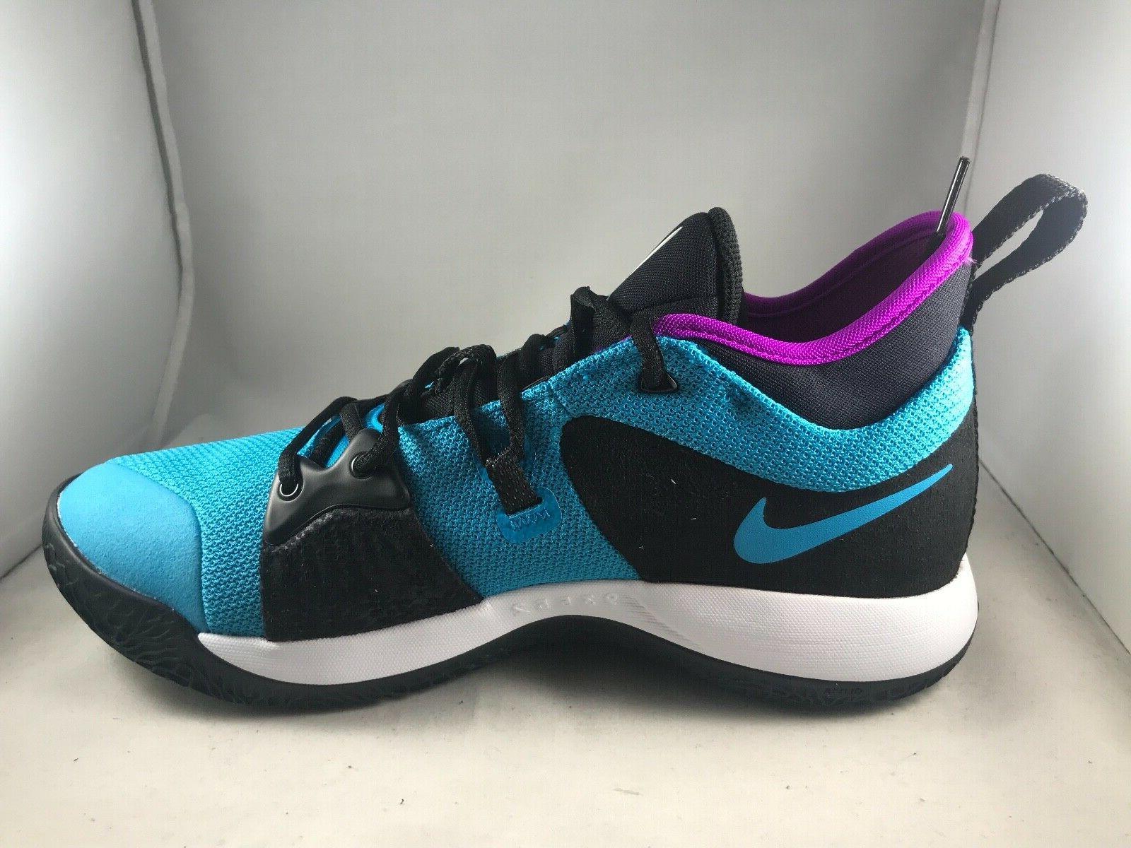 Nike PG Lagoon Paul George Shoes AJ2039- Size