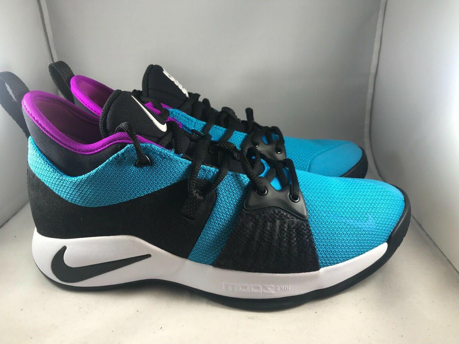 Nike PG 2 Lagoon Paul Basketball Shoes AJ2039- 402 Size