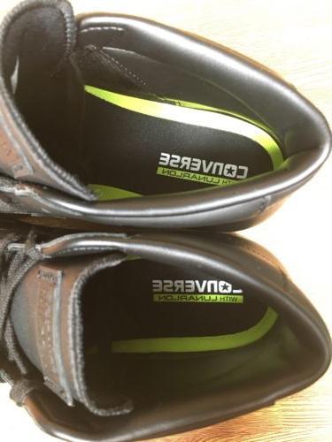 Converse PL Pro Leather 76 Triple Black Mens Size 155334c