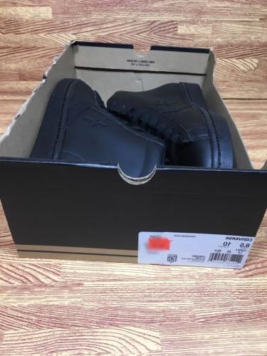 Converse Pro Leather Mid Triple Black Size 8.5 155334c