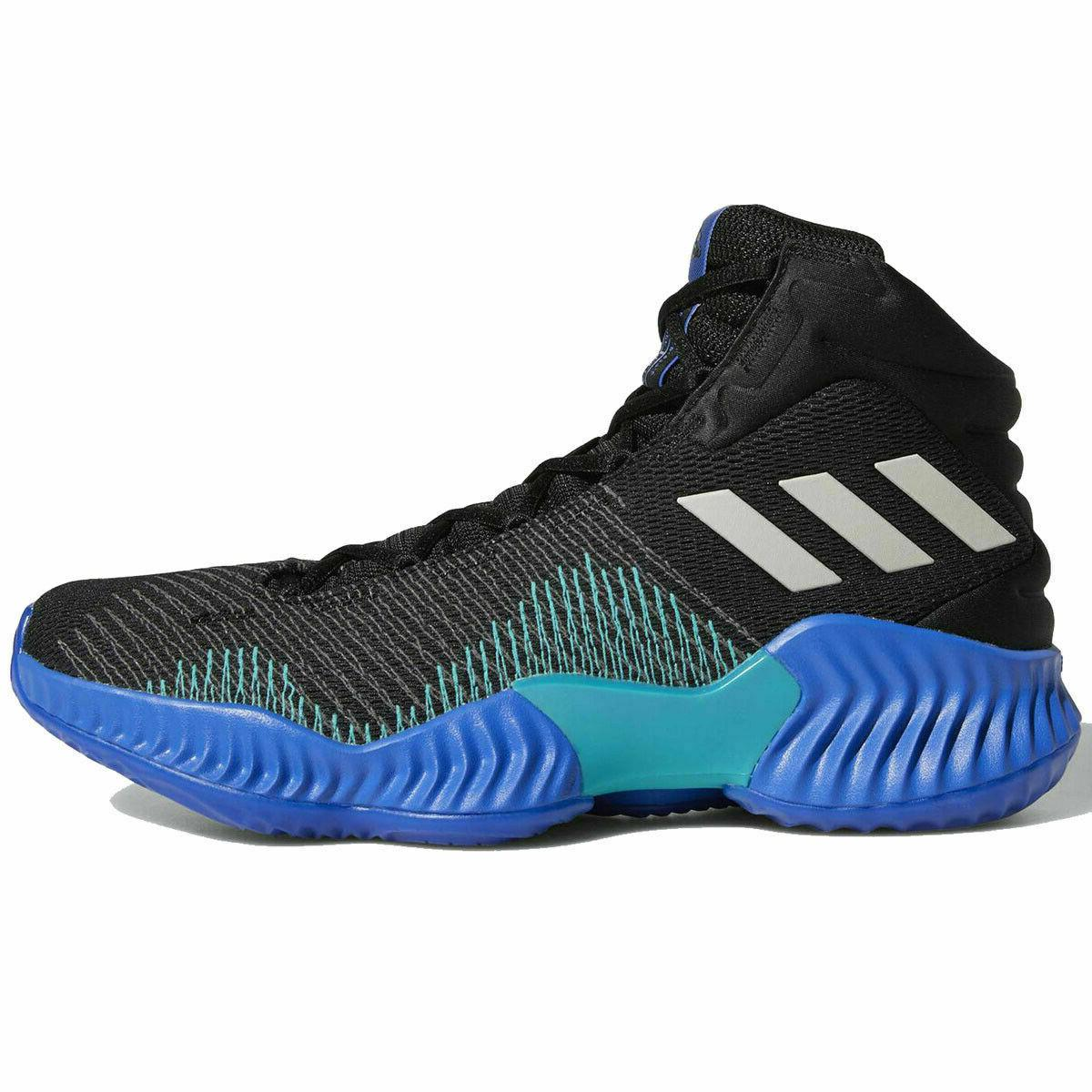Adidas Pro 2018 Men's Shoes Black Blue AH2657
