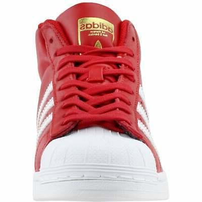 adidas PRO Basketball Red - Boys 4 M