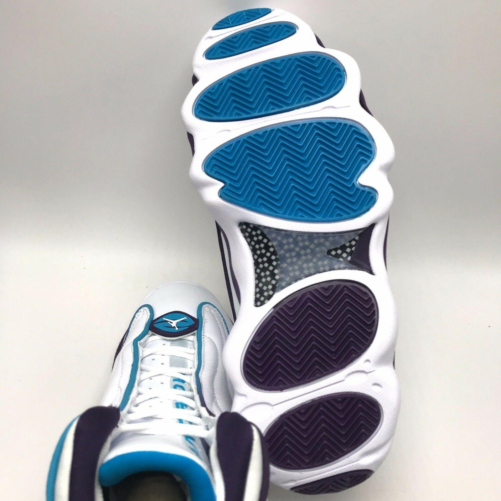 Nike Jordan Men's Shoes Purple