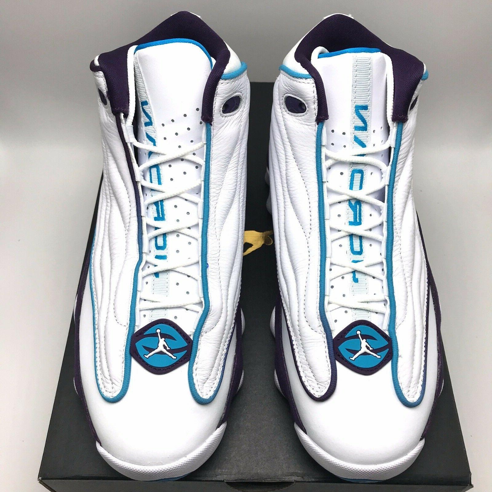 Nike Pro Strong Men's Shoes White/Blue Purple