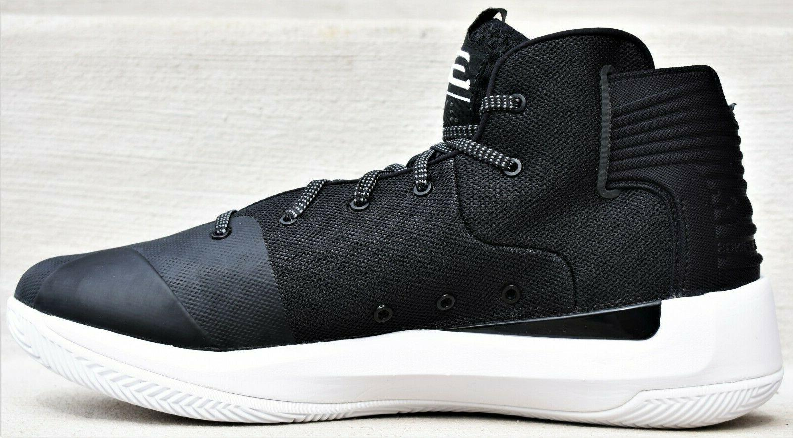 UNDER ARMOUR - New Stephen Curry Basketball Shoes Black White