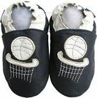 shoeszoo basketball dark blue 6-12m S soft sole leather baby