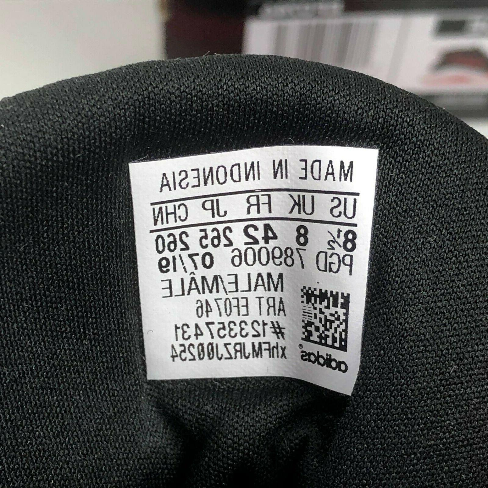 Size 8.5 WIDE EF0746 Black/Active Red
