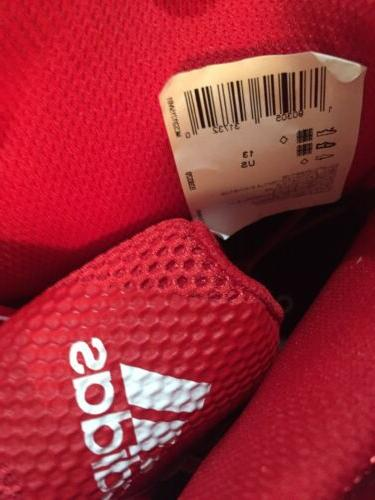 ADIDAS SM BOUNCE NBA MEN SHOES RED B39320 13 New!