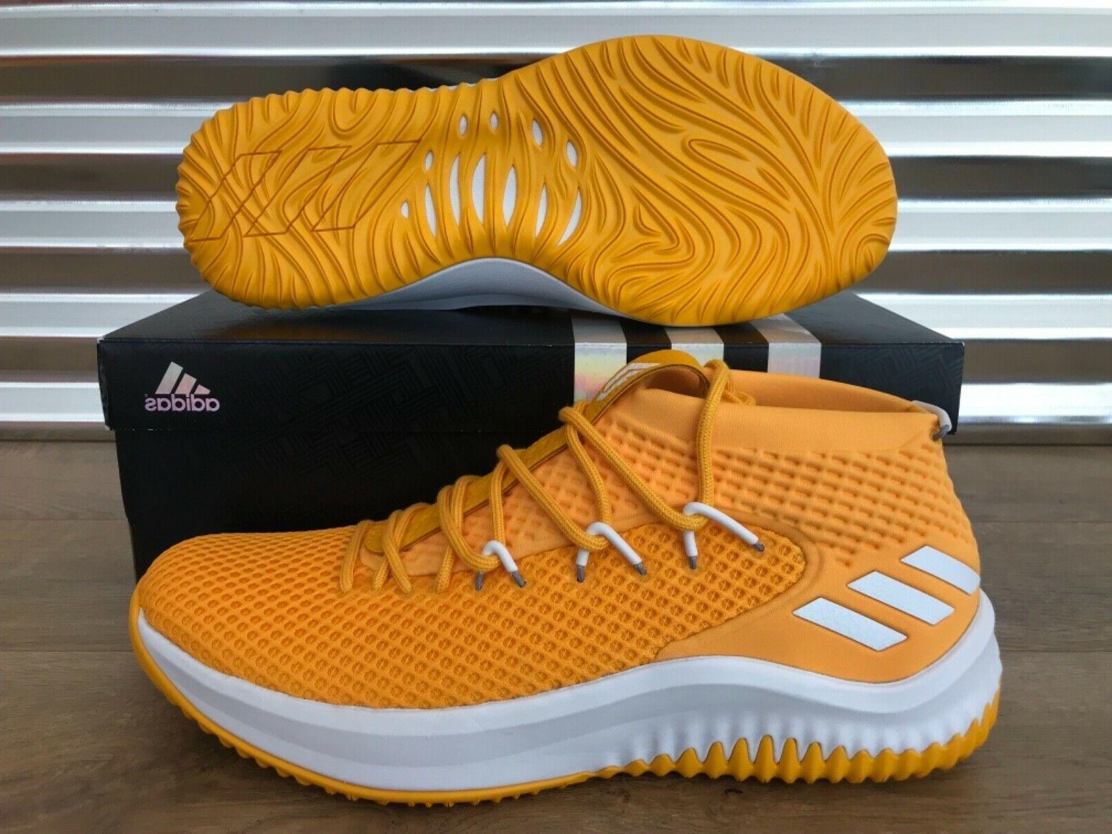 Adidas SM NBA Basketball Yellow Gold NIB